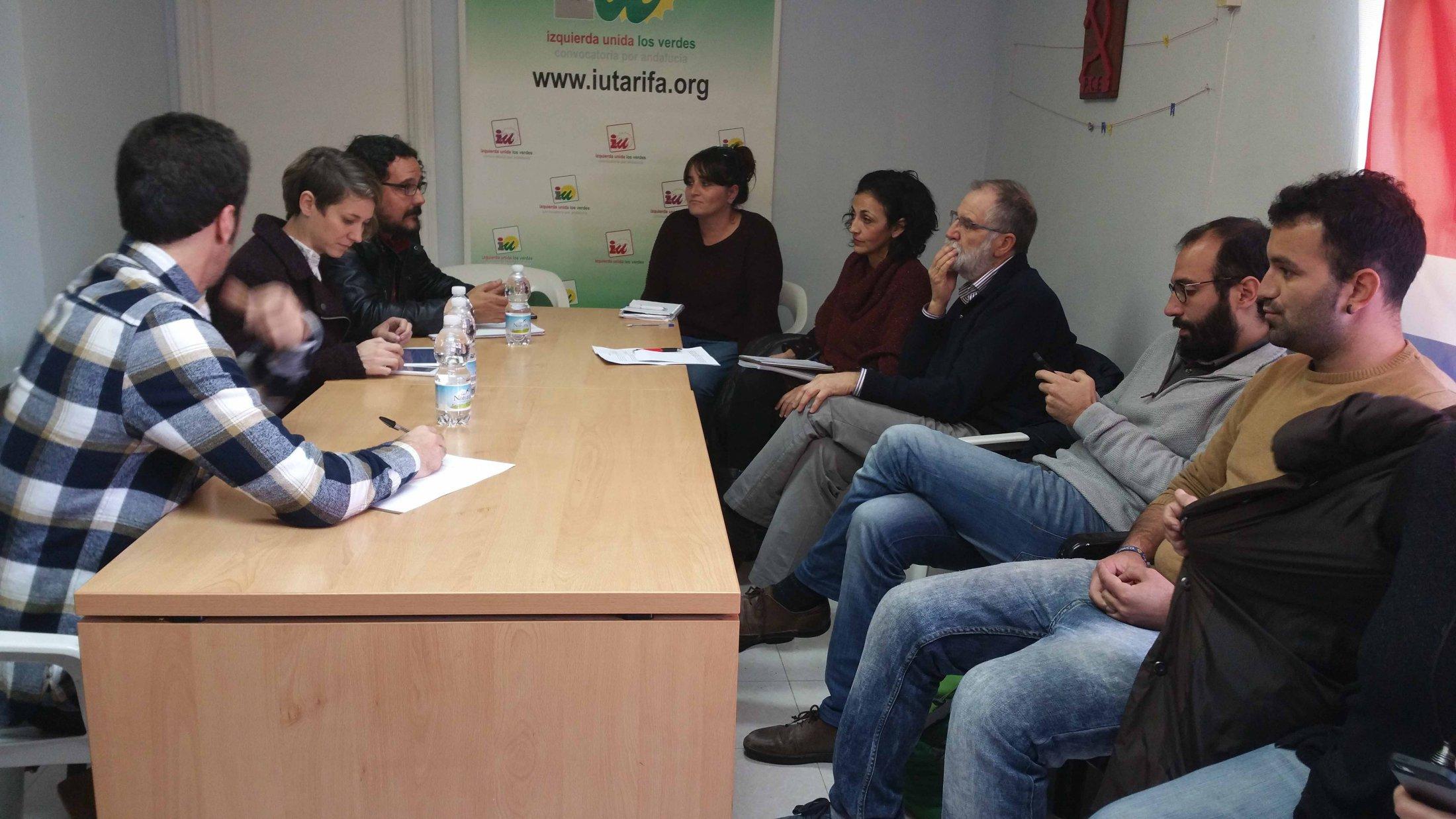 Encuentro De Marina Albiol Sobre Inmigración Con Colectivos Del Campo Gibraltar.