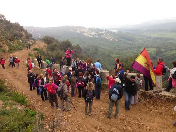 Uno De Los Conocidos Como Camino De Los Prisioneros, En El Campo De Gibraltar