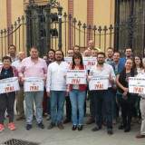 los-alcaldes-gaditanos-en-san-telmo-junto-al-resto-de-cargos-publicos-de-iu-de-toda-andalucia