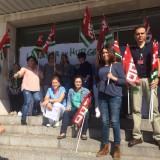 inmaculada-nieto-en-una-protesta-de-personal-sanitario-en-el-campo-de-gibraltar