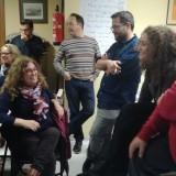 los-candidatos-y-el-portavoz-de-iu-jerez-durante-el-encuentro-con-las-trabajadoras-de-ayuda-a-domicilio